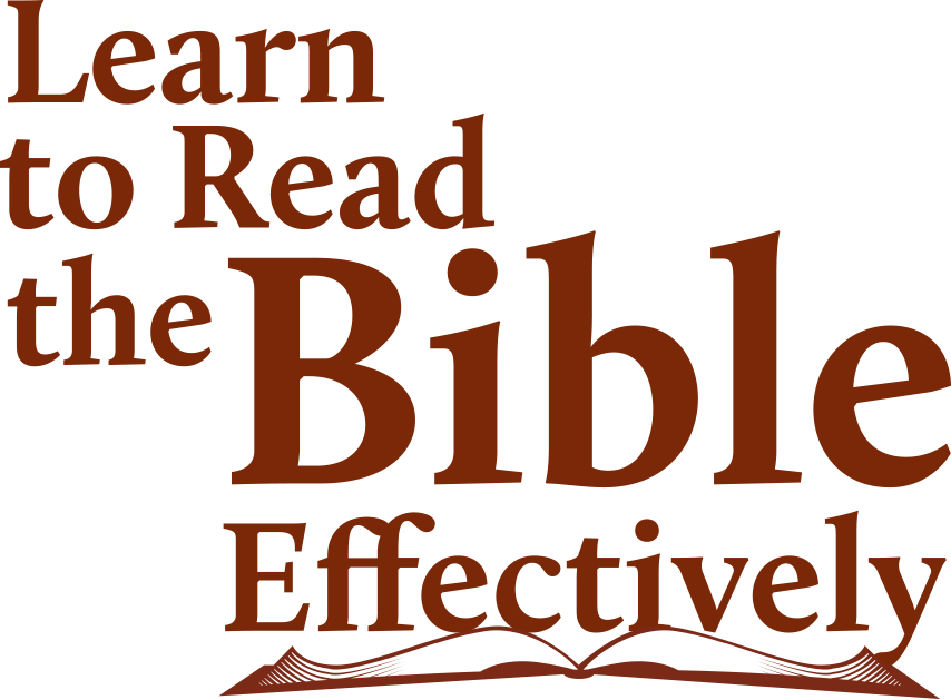 Learn to Read the Bible Effectively